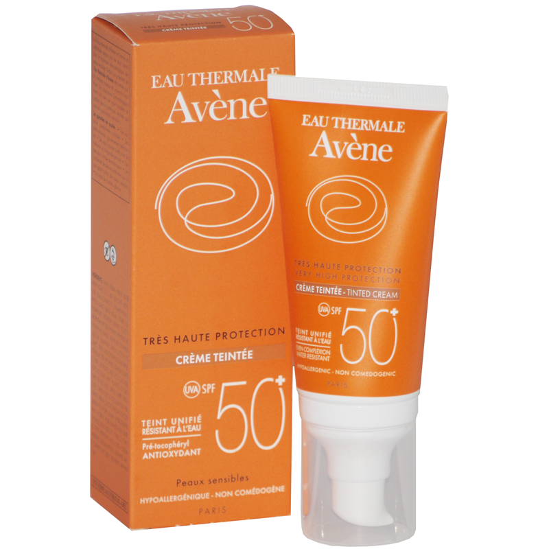 av ne cr me solaire teint e spf50 avene pharmacie des drakkars. Black Bedroom Furniture Sets. Home Design Ideas