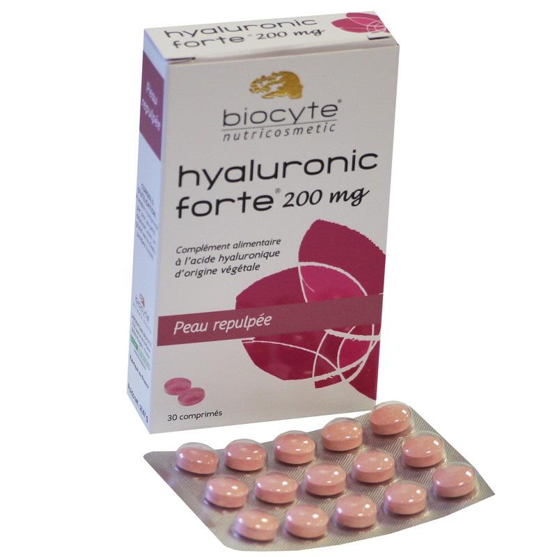 biocyte hyaluronic forte 200 mg biocyte pharmacie des drakkars. Black Bedroom Furniture Sets. Home Design Ideas