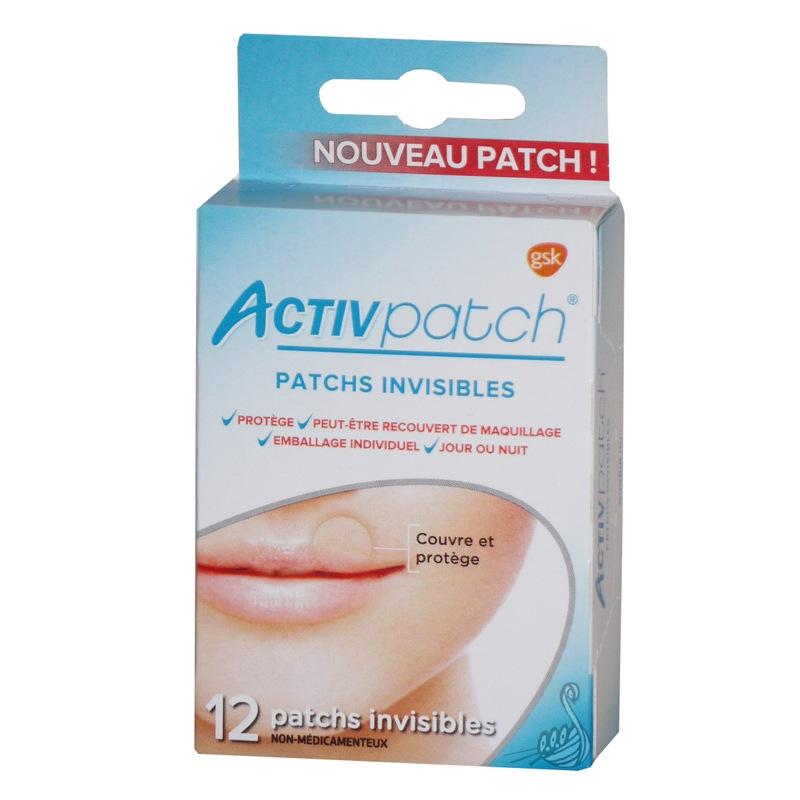 activpatch patchs invisibles pour bouton de fi vre gsk pharmacie des drakkars. Black Bedroom Furniture Sets. Home Design Ideas