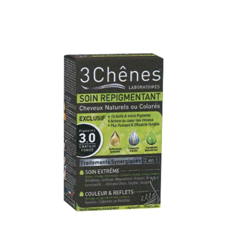 3chnes soin repigmentant cheveux naturels ou colors - Soin Naturel Cheveux Colors