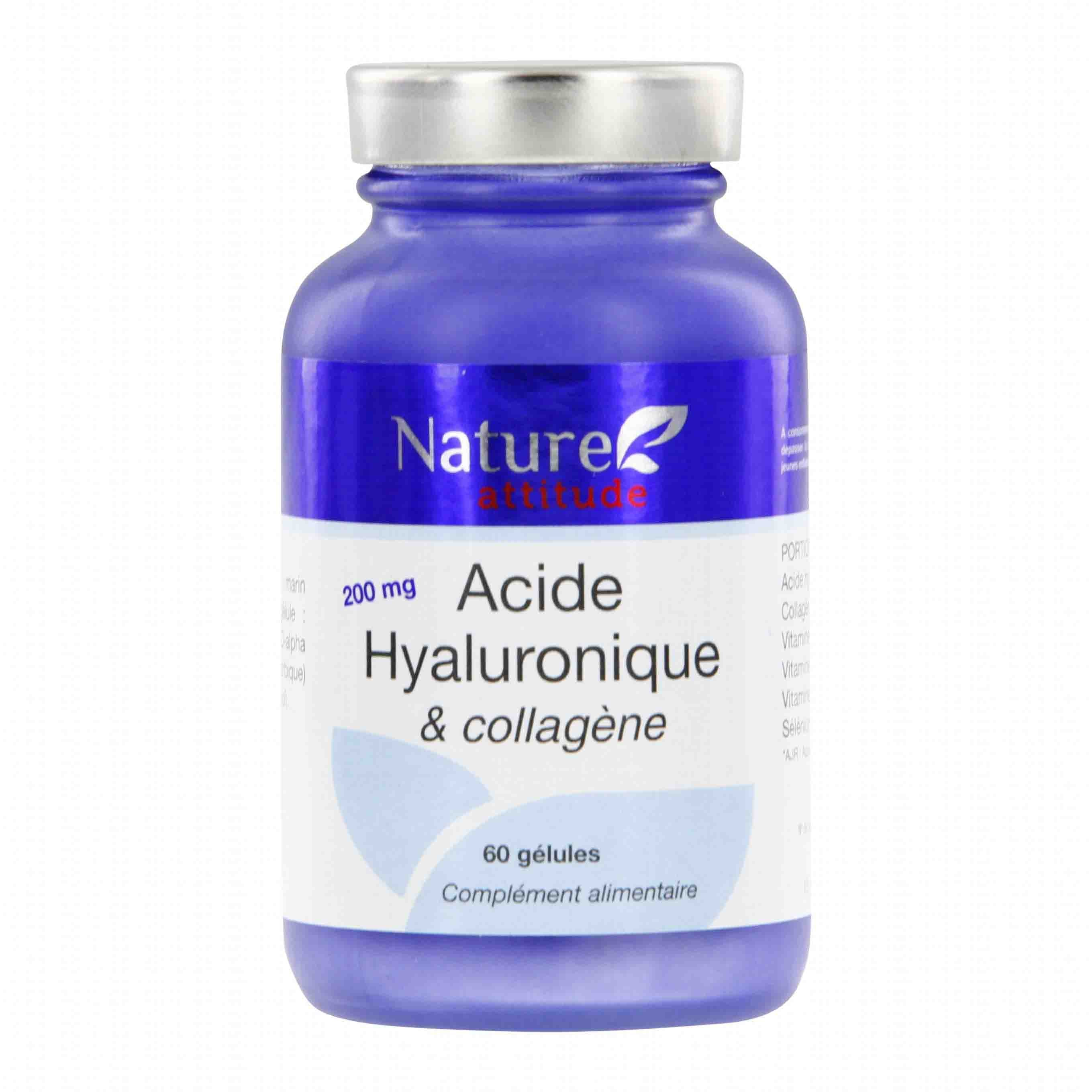 Prix de Nature attitude acide hyaluronique et collagène 60