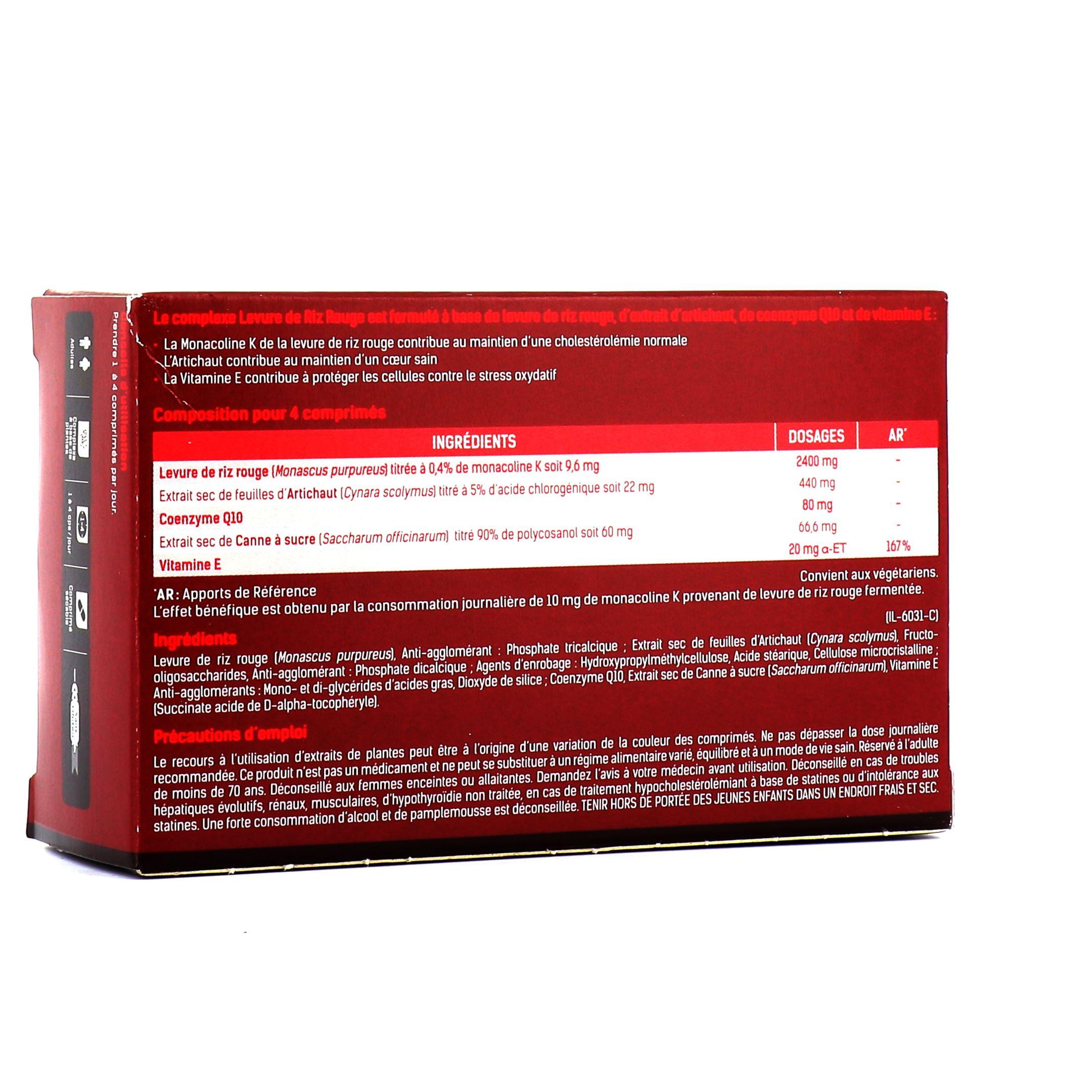 la réputation d'abord Achat plusieurs couleurs Levure de Riz rouge - Santé Verte   Pharmacie des drakkars