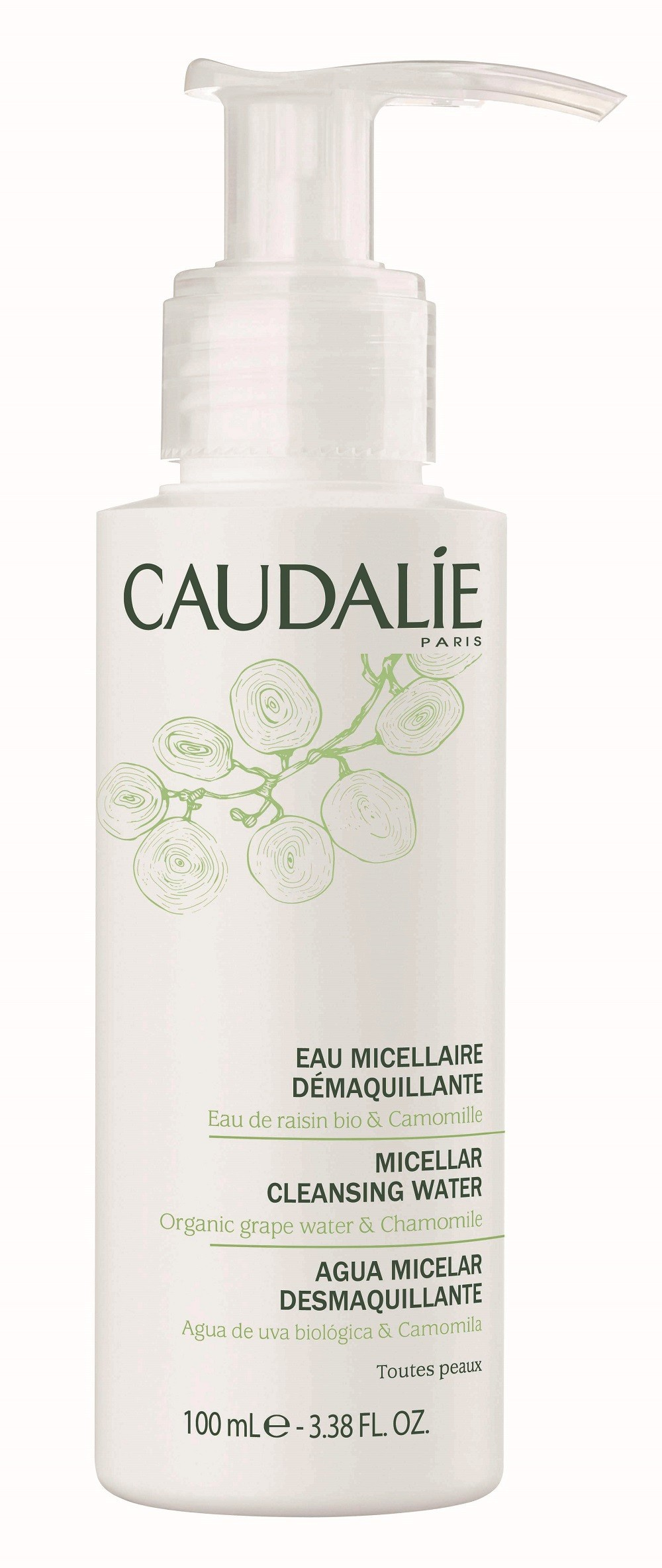 caudalie eau micellaire d maquillante caudalie pharmacie des drakkars. Black Bedroom Furniture Sets. Home Design Ideas