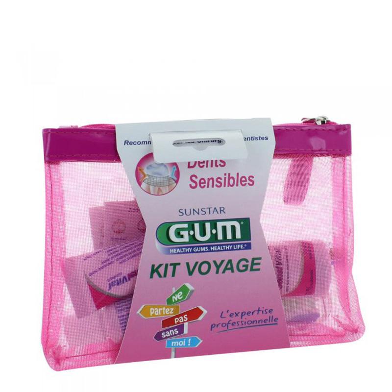 gum kit voyage dents sensibles gum pharmacie des drakkars. Black Bedroom Furniture Sets. Home Design Ideas