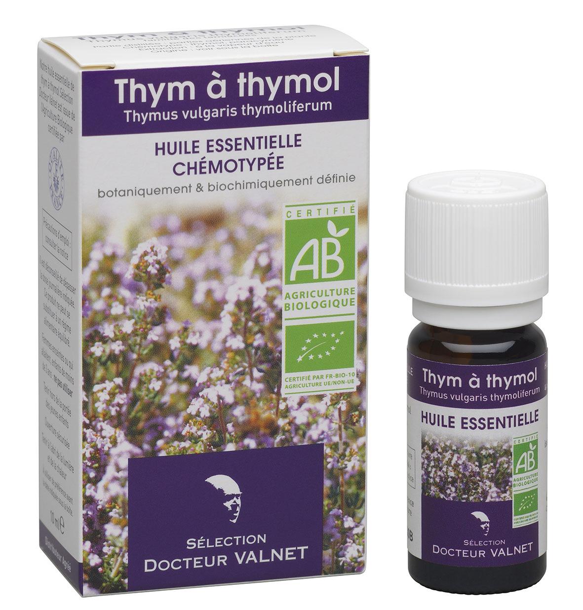 huile essentielle de thym thymol valnet 10 ml docteur valnet pharmacie des drakkars. Black Bedroom Furniture Sets. Home Design Ideas