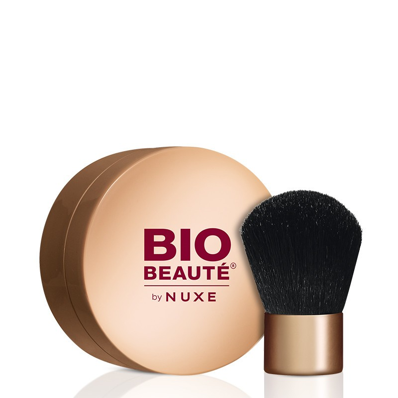 nuxe bio beaut fond de teint poudre min rale avec pinceau biobeaute by nuxe pharmacie des. Black Bedroom Furniture Sets. Home Design Ideas