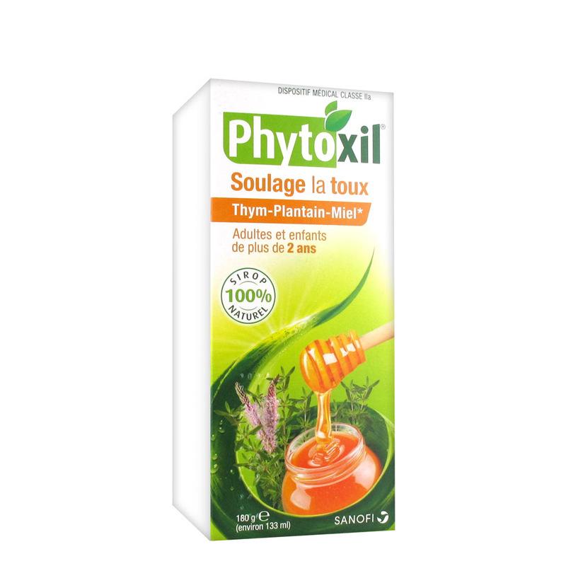 phytoxil soulage la toux sirop 100 naturel 180g sanofi sanofi pharmacie des drakkars. Black Bedroom Furniture Sets. Home Design Ideas