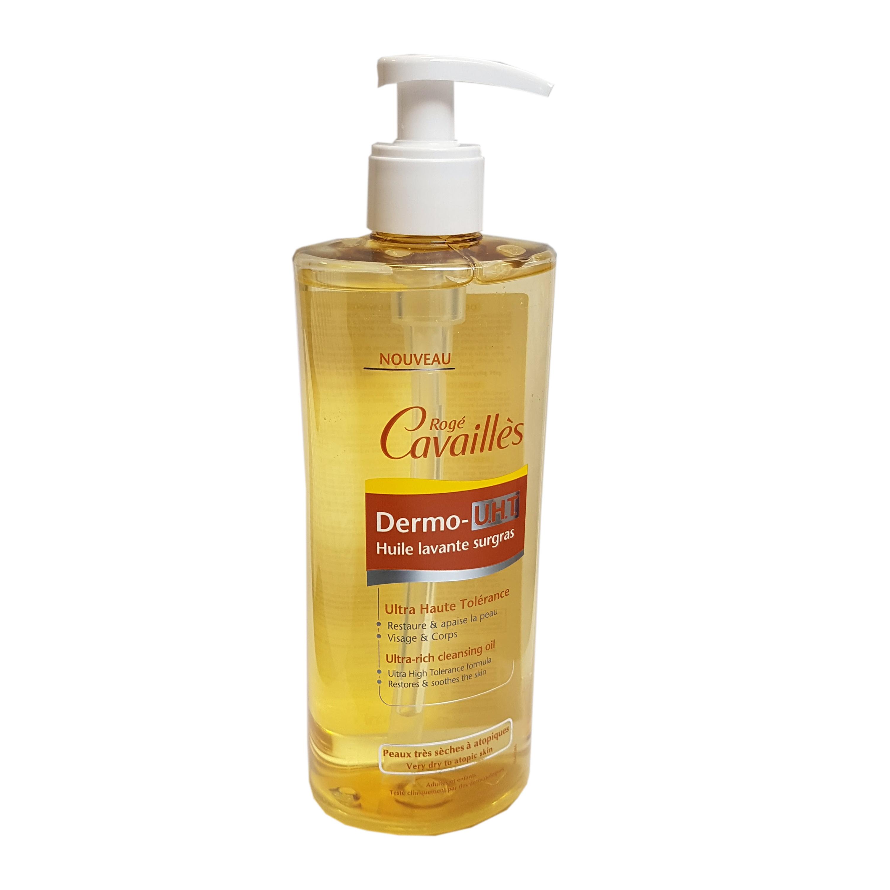 Rogé Cavaillès Dermo U.H.T huile lavante surgras 500 ml - ROGE ... c73ada0b16e