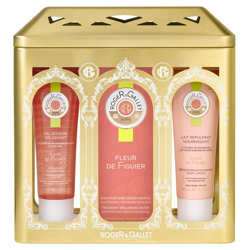 roger gallet coffret no l 2017 fleur de figuier 100 ml roger et gallet pharmacie des. Black Bedroom Furniture Sets. Home Design Ideas