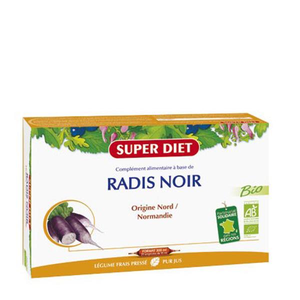 Super Diet Radis Noir Bio 20 Ampoules - Super Diet