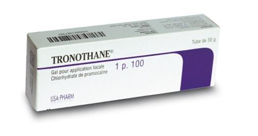 Tronothane 1% gel 30 g - Autre | Pharmacie des drakkars