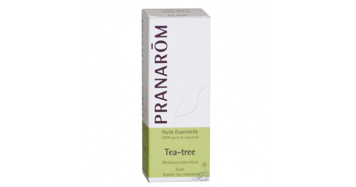 pranarom huile essentielle tea tree 10ml pranarom pharmacie des drakkars. Black Bedroom Furniture Sets. Home Design Ideas