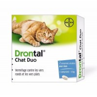 Drontal Vermifuge Chat Duo