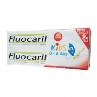 Fluocaril Kids 0 - 6 Ans Fraise lot 2x50 ml
