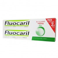 Fluocaril Menthe lot 2x75 ml