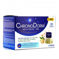 Iprad  Chronodorm Mélatonine 1mg Tisane  20 Sachets