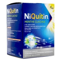Niquitin 2mg menthe glaciale 100 gommes
