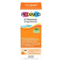 Pediakid - 22 vitamines et oligo-éléments - 250ml