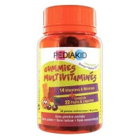 Pediakid - Gummies Multivitaminés - 60 oursons