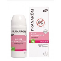Pranabb Roller Anti-Moustique Lait Corporel Bio en 30 ml