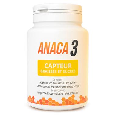 Anaca3 Capteur graisses et sucres - Anaca3 | Pharmacie des