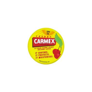 carmex baume l vres hydratant go t cerise spf 15 pot 7 5g. Black Bedroom Furniture Sets. Home Design Ideas