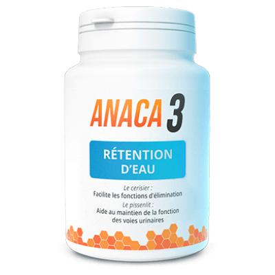 Anaca3 Retention d'eau 60 gélules - Anaca3 | Pharmacie des