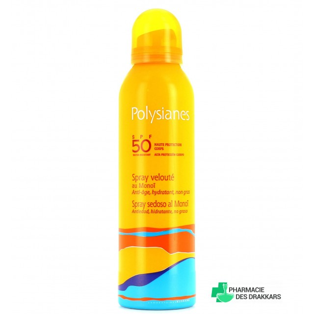 Polysianes SPF50 Spray Velouté au Monoï 150ml