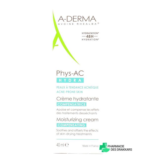 ADERMA Phys-AC Hydra Crème compensatrice