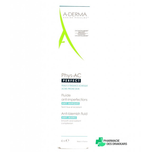 Aderma Phys-Ac Perfect fluide anti-imperfections 40 ml