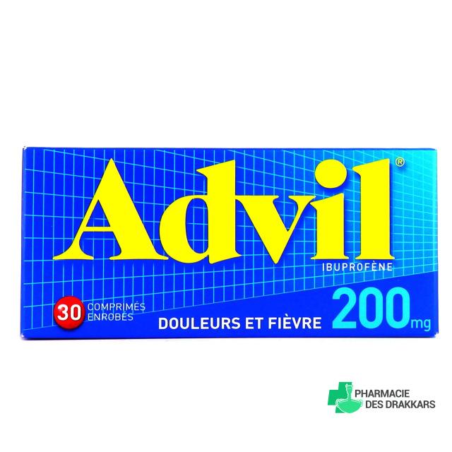 Advil 200mg 30 comprimés